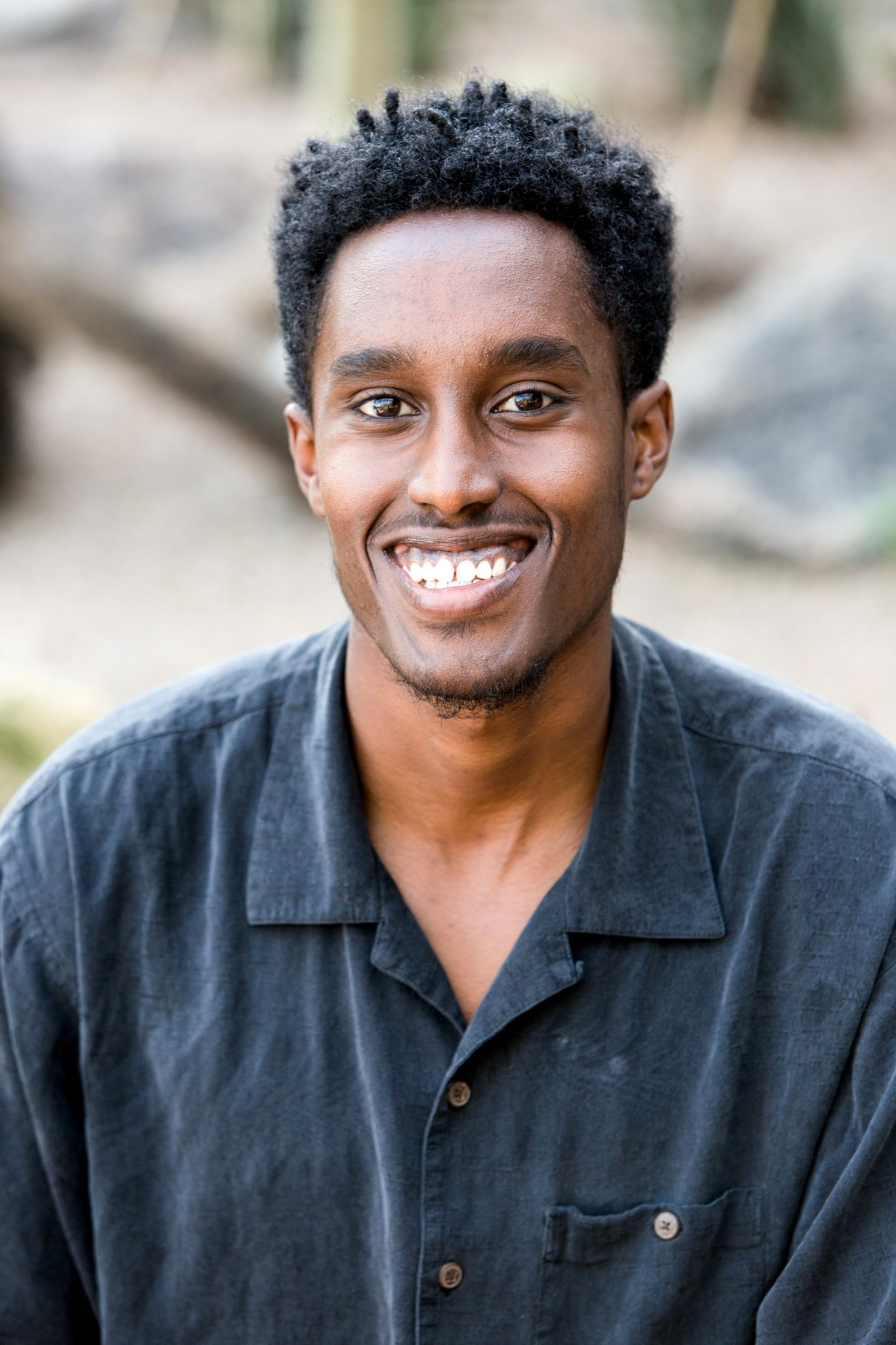 headshot photo of MLT Career Prep Fellow Faisal Gedi
