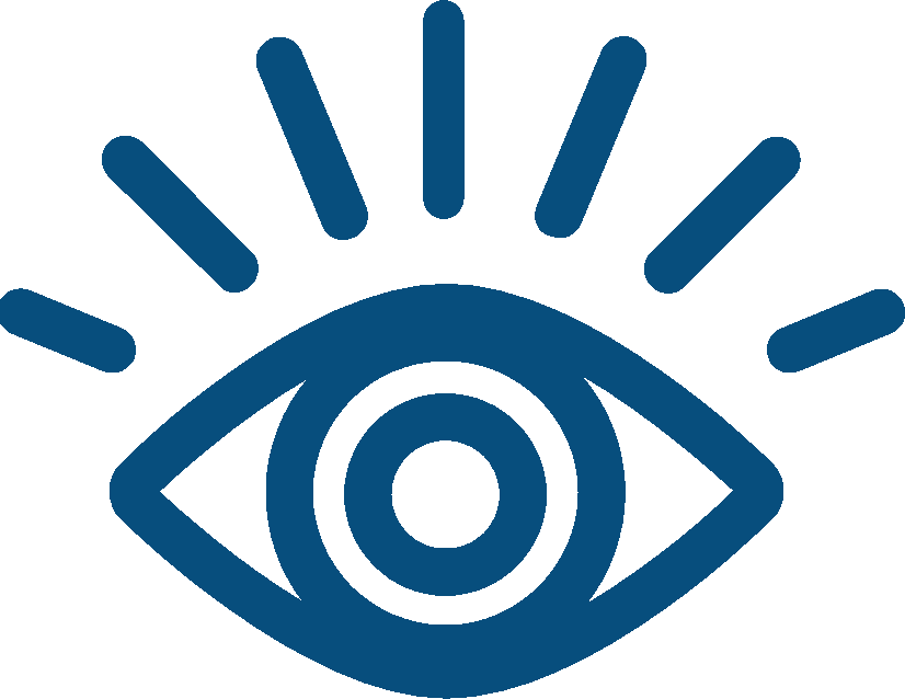 eye icon representing the framing portion of MLT Advisory Services engagements